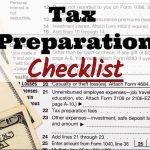 Your TaxLady's 2017 Tax Preparation Checklist